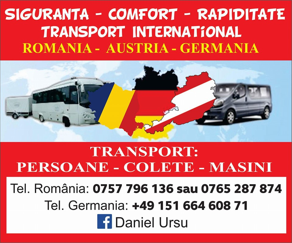 DanielTrans - Transport International Persoane Romania - Germania